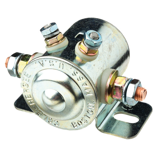 Continuous Duty Solenoid SPST 12V 85A - Cole Hersee Australia