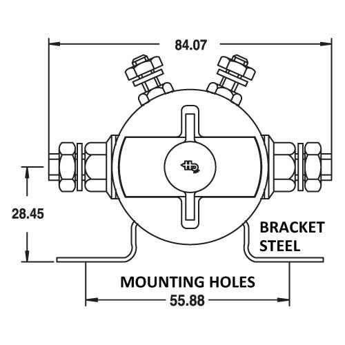 latching solenoid spst 12v