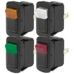 LED Rocker Switch SPST On/Off Dependent