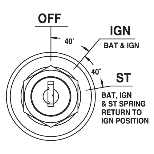 3 Position Ignition Switch Diagram